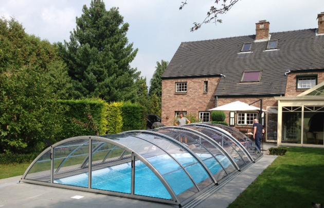 Acoperire  piscina Klasik Clear 2