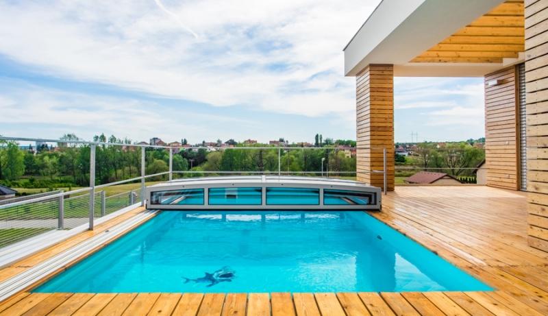 Acoperire piscina Casablanca Inifnity EVO