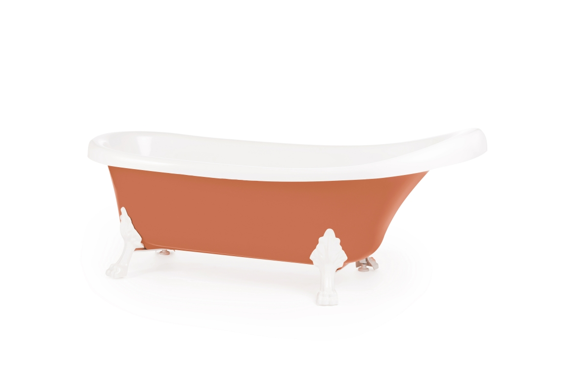 KNOSSOS beige red vedere in unghi
