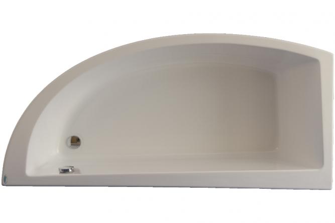 Cada de baie cu laturi inegale Neo