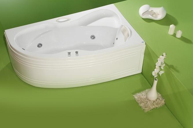 Cada de baie cu laturi inegale Nicole