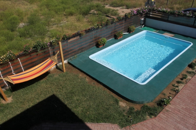 Piscina creta fibrex for Piscine ingropate