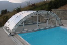 Acoperire piscina Klasik Clear