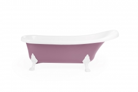 Cada de baie freestanding Knossos - Pastel violet